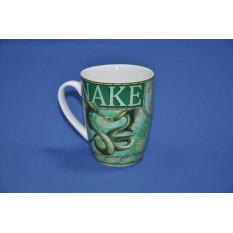 кружка 14 oz змеи мифические зеленые