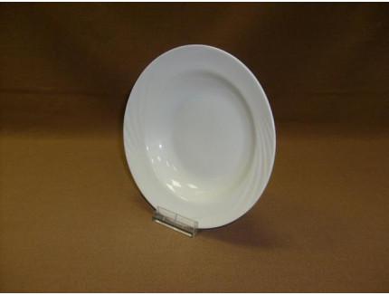 тарелка глубокая 220 мм (1/12) (белье) ф. голубка