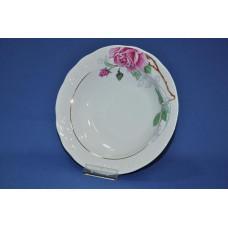 тарелка глубокая 220 мм (1/12) (розовая нежность) ф. надежда