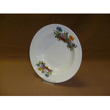 тарелка глубокая 240 мм (1/12) (букет цветов)