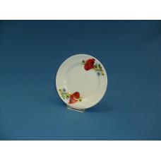 тарелка мелкая 170 мм (1/20) (маки красные)