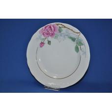 тарелка мелкая 240 мм (1/12) (розовая нежность) ф. надежда