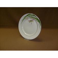 тарелка мелкая 240 мм (1/12) (стрекоза)