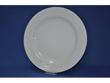 тарелка мелкая 300 мм (1/6) (белье) ф. голубка