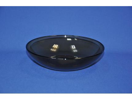 тарелка глубокая 19 см дымчатое стекло 62070