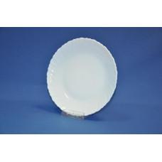 тарелка десертная 19 см классика-3 волнистый край