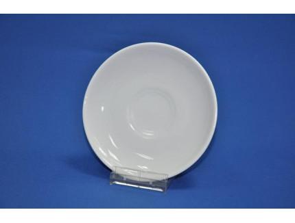 блюдце чайное 140 мм флора (белье)