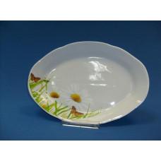 блюдо овальное 350 мм (1/5) (ромашка)