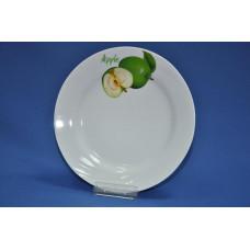 тарелка мелкая 200 мм (1/20) (зеленое яблоко)