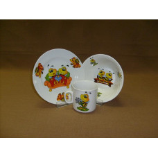 набор посуды 3 пр. Пчелы (с салатником)