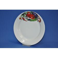 тарелка 200 мм мелкая (овощи)