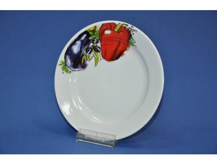 тарелка 175 мм мелкая (овощи)