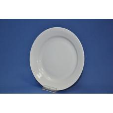 тарелка 240 мм мелкая (белая)