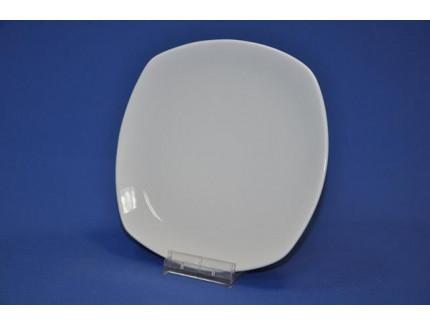 тарелка 170 мм квадратная белье