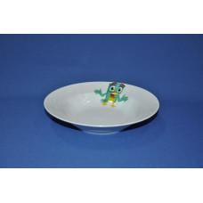 тарелка глубокая 200 мм (1/20) (радужные птички)