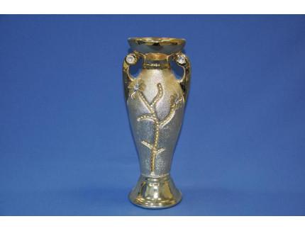 ваза ф. кубок золото Е0372