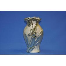ваза ф. волна золото С-0623