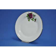 тарелка мелкая 230 мм черная роза 415/11