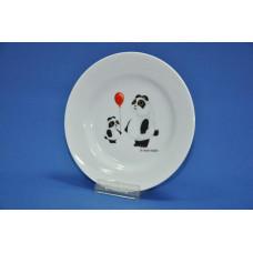 тарелка мелкая 175 мм (1/20) (панда)