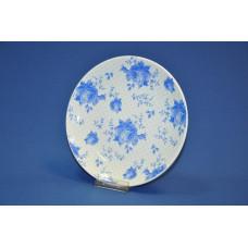 Тарелка мелкая Соната 220 мм Кантри синие цветы (1/10)