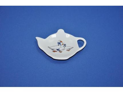подставка для чая гуси