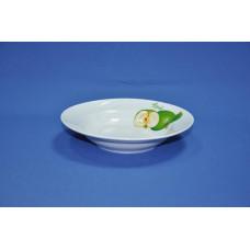 тарелка глубокая 200 мм (1/20) (зеленое яблоко)