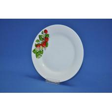 тарелка мелкая 230 мм клубника цветущая 415/4