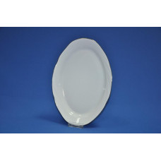 блюдо овальное 330 мм голубка (1/5) (золото)