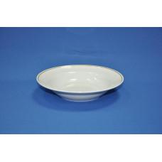 тарелка глубокая 240 мм (1/12) (золото) ф. идиллия
