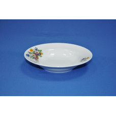 тарелка глубокая 200 мм (1/20) (букет цветов)