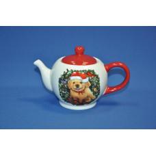 чайник новогодний щенок