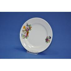 тарелка мелкая 175 мм (1/20) (букет цветов)