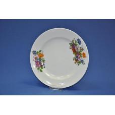 тарелка мелкая 265 мм (1/6) (букет цветов)
