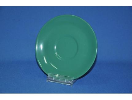 блюдце зеленое 145 мм