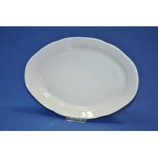 блюдо овальное 330 мм идиллия (1/5) (белье)
