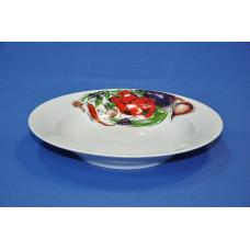 тарелка 240 глубокая (овощи)