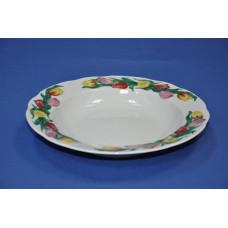тарелка 240 глубокая (тюльпаны бортовые)