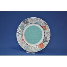 тарелка плоская 23 см Лазурь