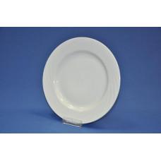 тарелка мелкая 240 мм (1/12) (белье) ф. голубка